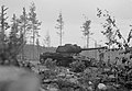 An immobilized Red Army IS-2 tank in Tammisuo.jpg