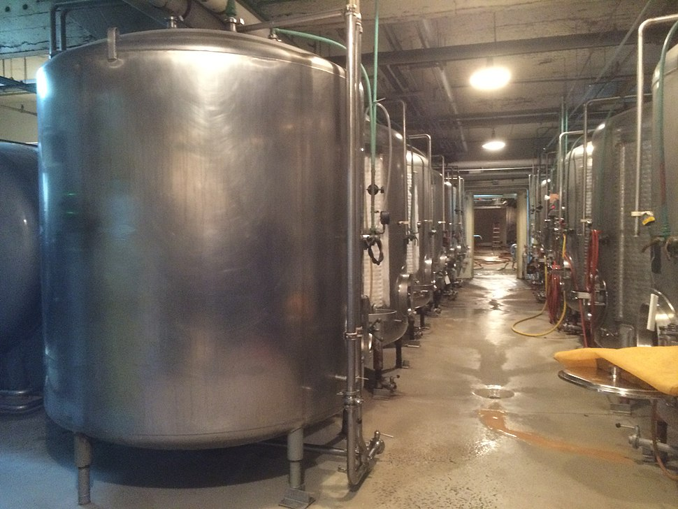 Anchor Brewing Company conditioning tanks