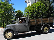 camion citron des annes 1950