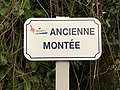 Ancienne Montée (Miribel), panneau de rue.jpg