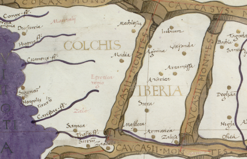Ancient kingdoms of Colchis and Iberia 793 BC