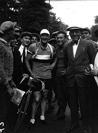 1932 Tour de France - André Leducq, winner of the 1934 Tour de France (pictured at the Tour)