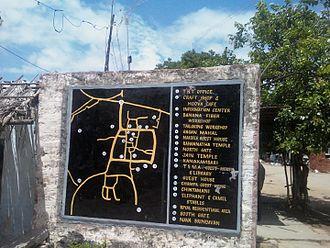 Nava Brindavana - City of Anegundi Map