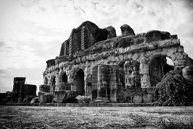 1st place: Ancient Capua Roman amphitheatre, Santa Maria Capua Vetere