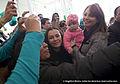 Angélica Rivera de Peña en la Toma de Protesta de Enrique Peña Nieto como Candidato del PVEM. (6877923479).jpg