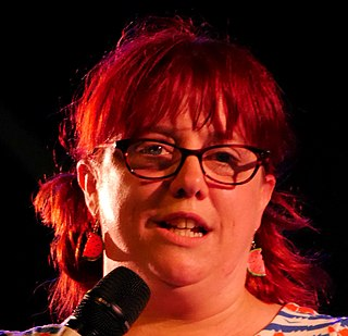Angela Barnes English comedian
