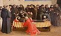 Angelico, predella con scene francescane, 1429, 04.JPG