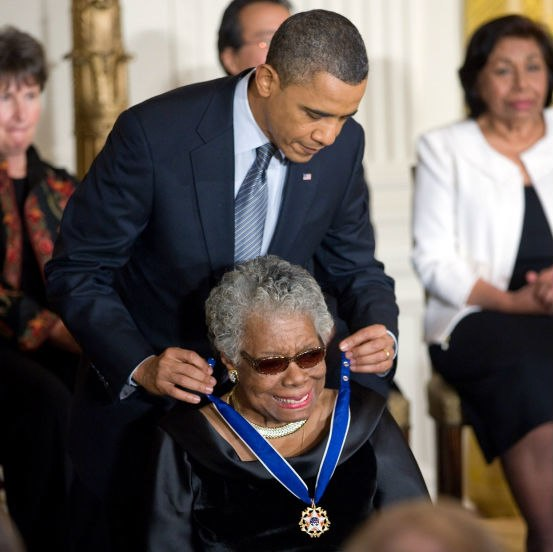 Angelou Obama