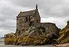 Angle sud de la chapelle Saint-Aubert (Le Mont-Saint-Michel, Manche, France).jpg