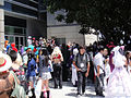 Anime Expo 2011 - crowd taking group pictures (5917927330).jpg