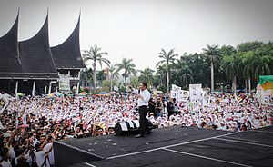 Prosperous Justice Party - Image: Anis Matta di Padang