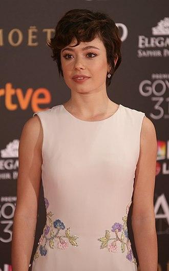 Anna Castillo - Castillo at the 2017 Goya Awards.