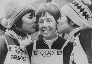 Alpine skiing at the 1968 Winter Olympics – Womens giant slalom