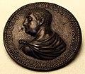 Anonimo padovano, medaglia di francesco II da carrara, 1550-1600 ca..JPG