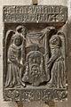 Anonyme - Epitaphe de Philippe Pitei ornée de la Sainte Face du Christ - Musée des Augustins - RA 546.jpg