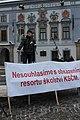 Anti-communist demonstration in České Budějovice 26 January 2013 (1).JPG