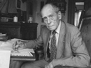 Anton Pieck - Anton Pieck in 1980