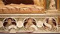 Antonio vite e collaboratore, arbor vitae, trasfigurazione e miracolo della madonna della neve, 1390-1400 ca., famiglia francescana 02.jpg