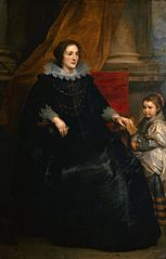 Portrait of a Lady with her Daughter