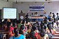 Anup Kumar Sen Lecturing - Bangla Wikipedia National Seminar and Workshop - Hijli College - West Midnapore 2015-09-28 4205.JPG