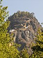 Approaching the Tiger's Nest from the Paro Valley, Bhutan - panoramio.jpg