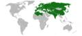 Arabidopsis thaliana distribution.png