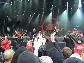 Arch Enemy - Arch Enemy performing live at Metaltown Festival 2011