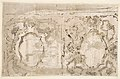 Architectural Fantasy- Figures on a Grand Staircase (recto); Studies for the Frame of a Shaped Field (verso) MET DP810421.jpg