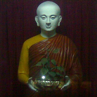 Indian Buddhist nun