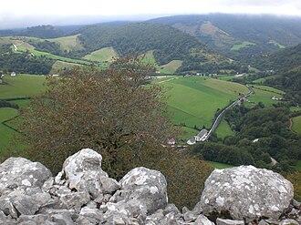 Battle of Orbaizeta - Terrain south of Orbaizeta