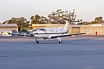 Armada Aviation (VH-XAQ) Pilatus PC12-45 taxiing at Wagga Wagga Airport (2).jpg