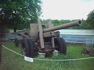 122 mm gun M1931/37 (A-19) - The M1931/37 in Poznań Citadel.