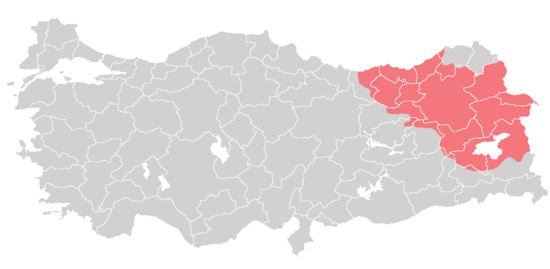 Armenians claims to Turkey according to the Treaty of Sevres, 1920.png