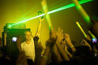 Armin van Buuren - Armin van Buuren performing in Shanghai in 2009