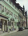 Arnstadt - Bach Museum ,Haus zum Palmbaum, Thüringen Aug 1991.jpg