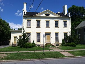 National Register of Historic Places listings in Oneida County, New York - Image: Arsenal House Rome NY