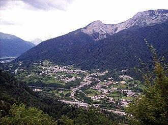 Arta Terme - Image: Arta Terme panorama