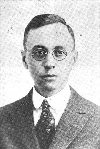 Arthur M. Schlesinger Sr. - Image: Arthur M. Schlesinger (Sr.), Ohio State University Monthly