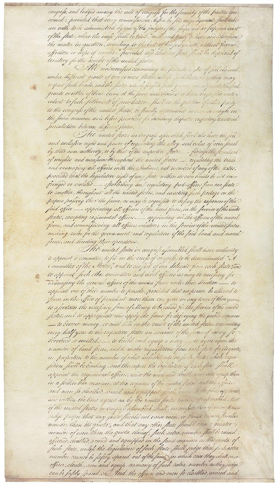 Articles of Confederation 9-9
