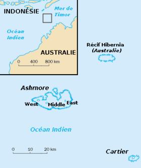 Image illustrative de l'article Îles Ashmore-et-Cartier
