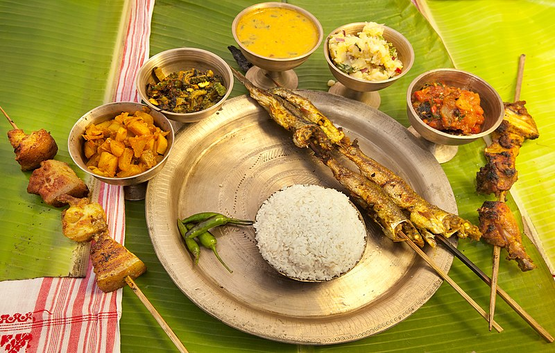 File:Assamese dish.JPG
