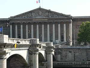 Félix Houphouët-Boigny - The Palais Bourbon, where Houphouët-Boigny was appointed to the territorial commission