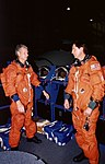 Astronauts Steven A. Hawley and Gregory J. Harbaugh (27410068944).jpg