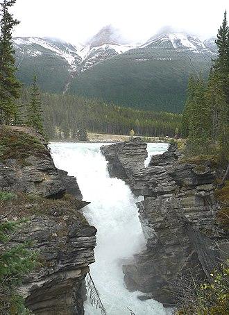 Athabasca Falls - Image: Athabasca Falls 27527