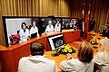"""Atklāj """"Huawei Technologies"""" dāvāto telekonferenču sistēmu; tā būs noderīga ārstiem (30.11.2011.) (6800156101).jpg"""