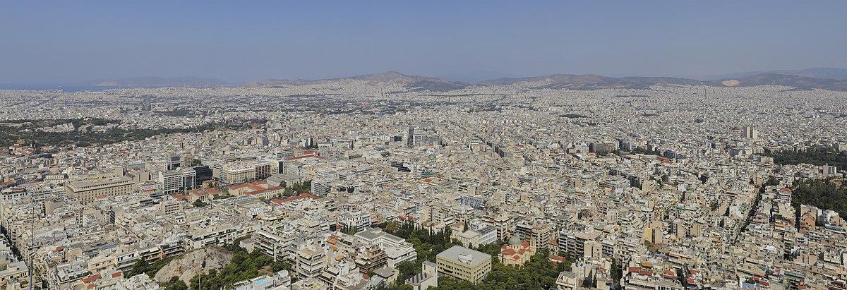Panoramo de Ateno