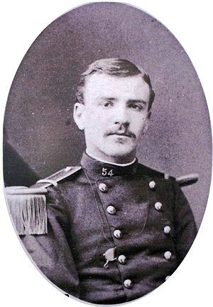 Émile Driant - Second lieutenant Driant graduated from Saint-Cyr