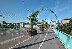 Auf der Schlossbrücke, nach W gesehen.JPG