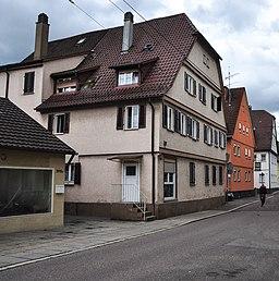 Augsburger Straße 395 (Stuttgart-Untertürkheim) Südwestfassade