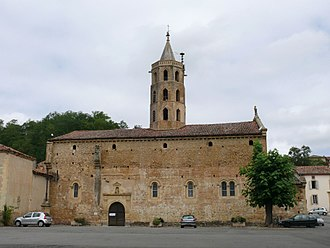 Aulon, Haute-Garonne - The church in Aulon